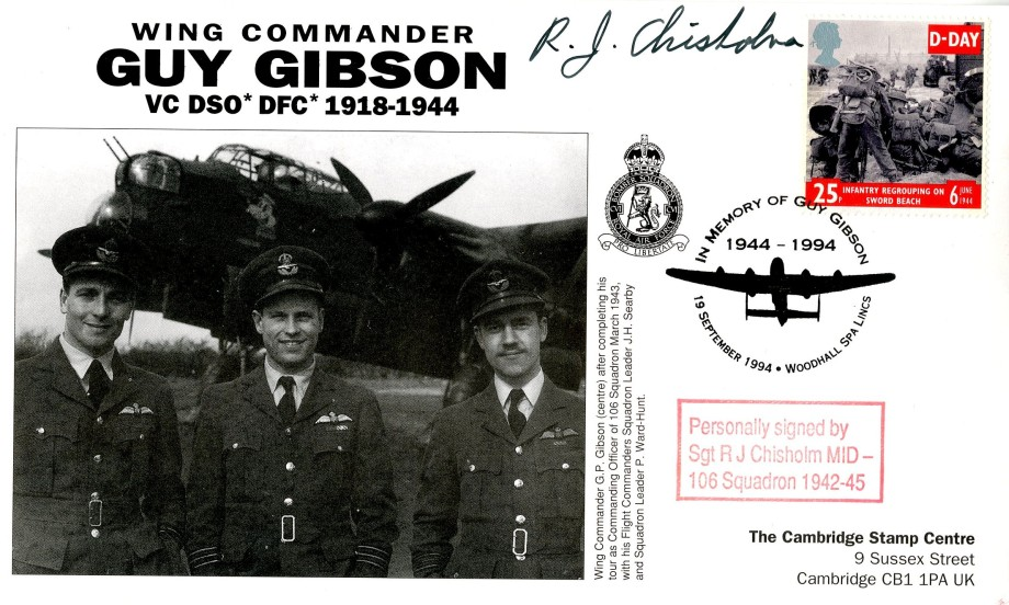 106 Squadron cover Sgd R J Chisolm of 106 Sq