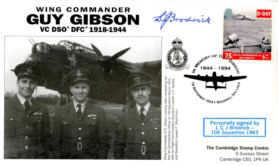 106 Squadron cover Sgd L C J Broderick of 106 Sq