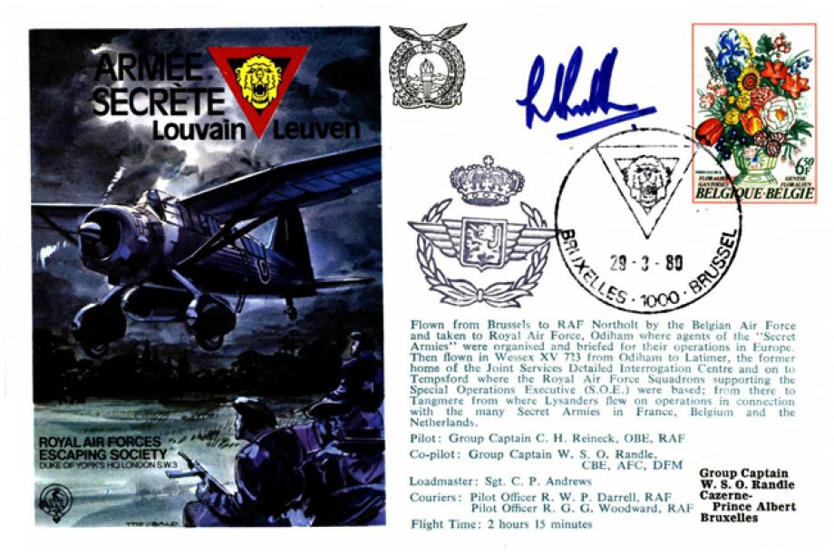 Armee Secrete cover Sgd Bill Randle