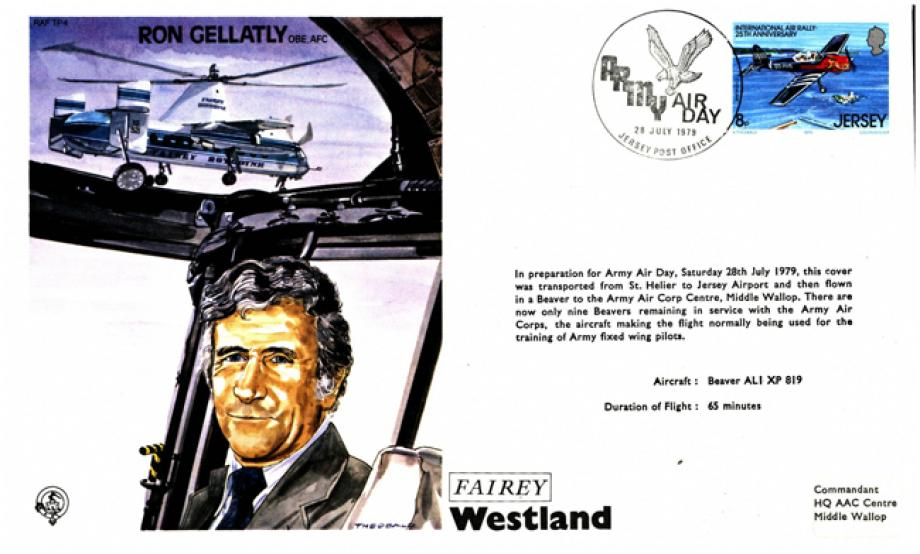 Ron Gellatly the Test Pilot cover