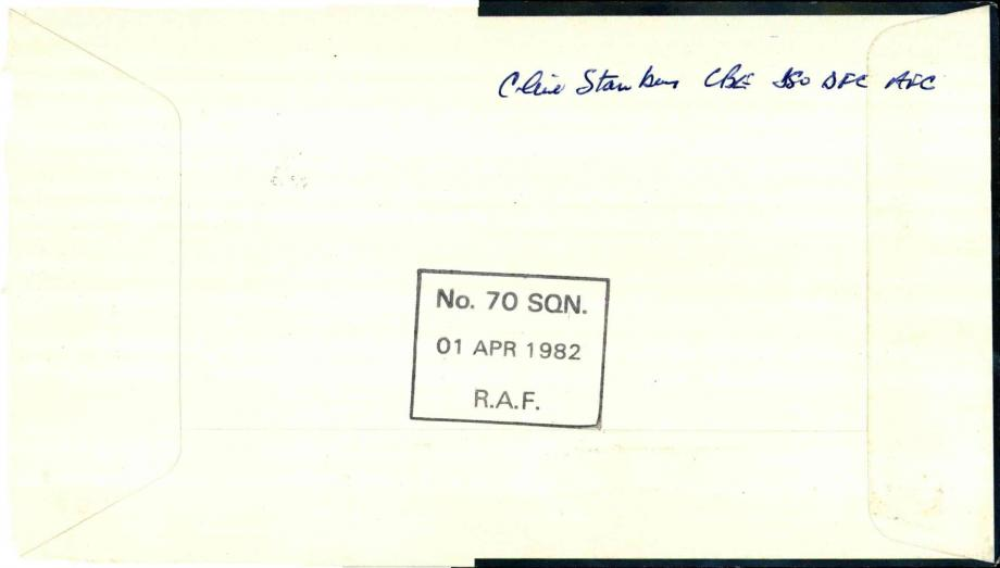Formation of the RAF cover Signed O'Brien and Stanbury