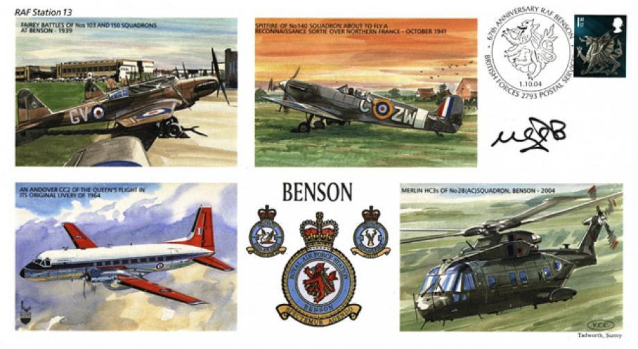 RAF Benson cover Sgd pilot