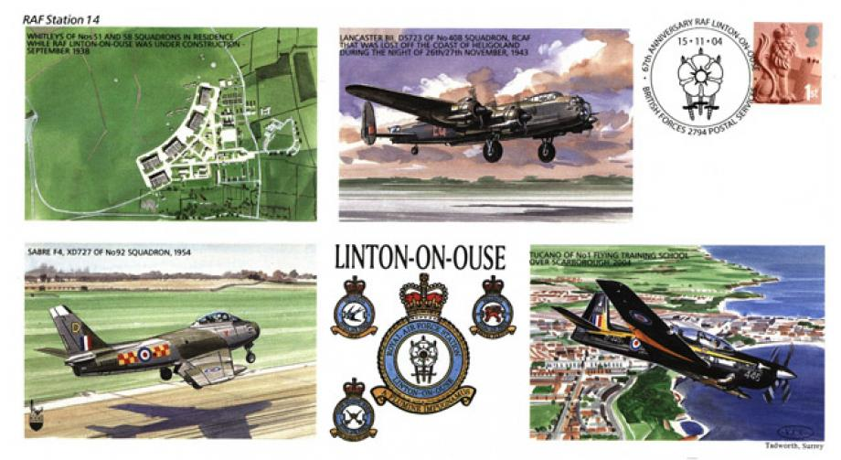 RAF Linton On Ouse cover