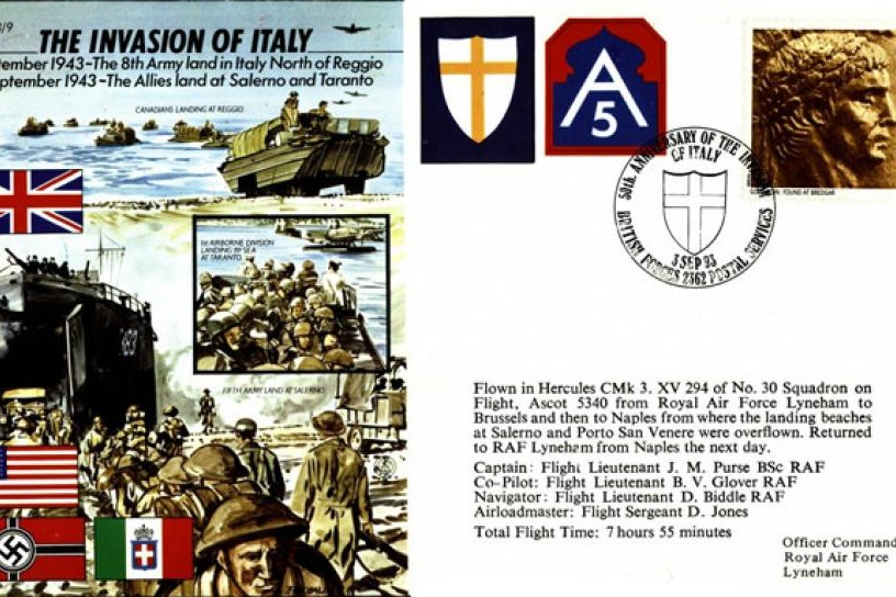 Invasion of Italy cover