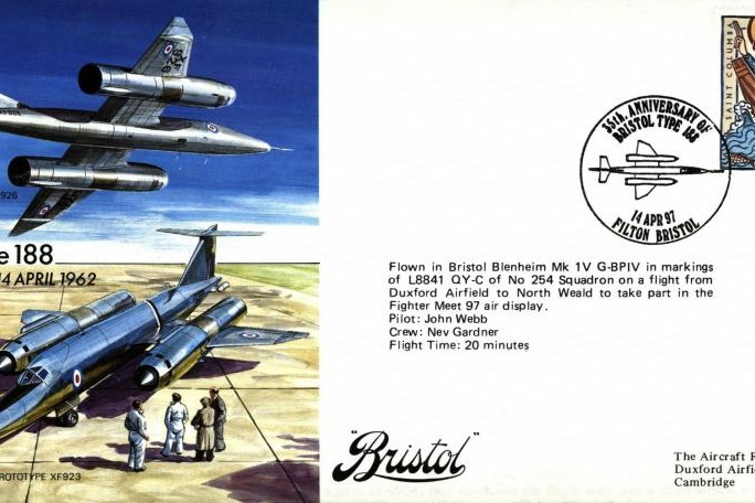 Bristol Type 188 cover