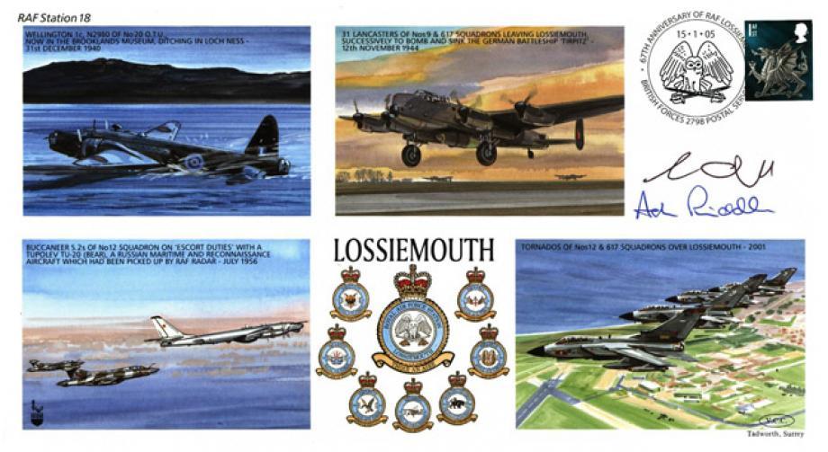 RAF Lossiemouth cover Sgd crew