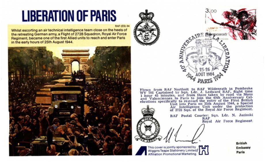 Liberation of Paris cover Sgd pilot