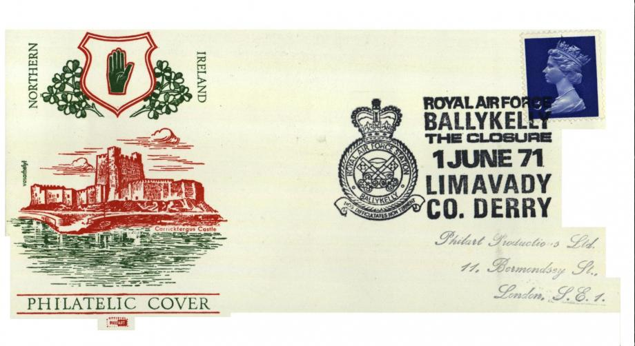 RAF Ballykelly cover