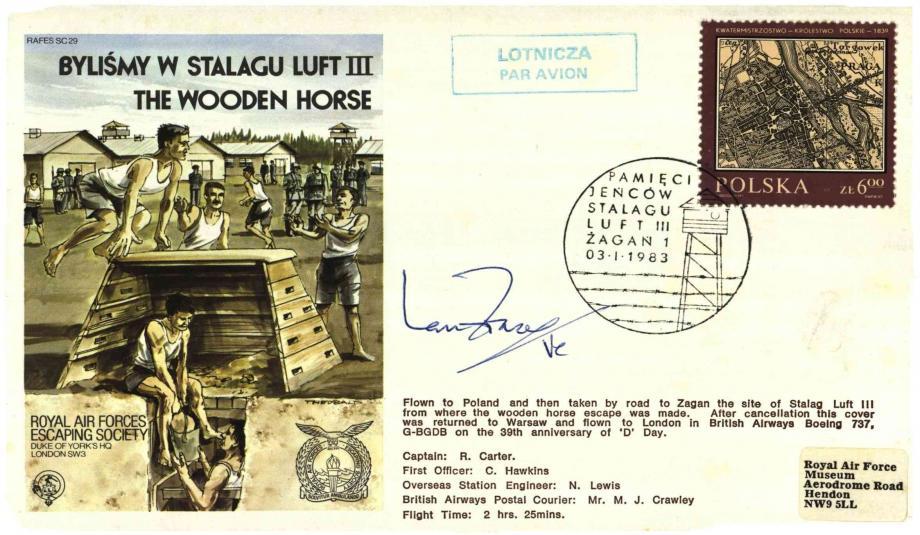 Bylismy W Stalagu Luft 111 cover Sgd Ian Fraser VC