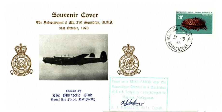 Redeployment of 210 Squadron cover Sgd Captain