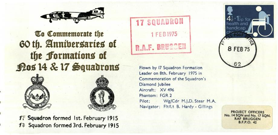 Formations of 14 Squadron and 17 Squadron cover
