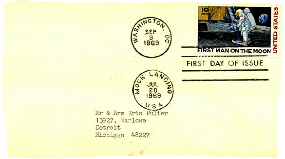Apollo 11 FDC 20th July 1975