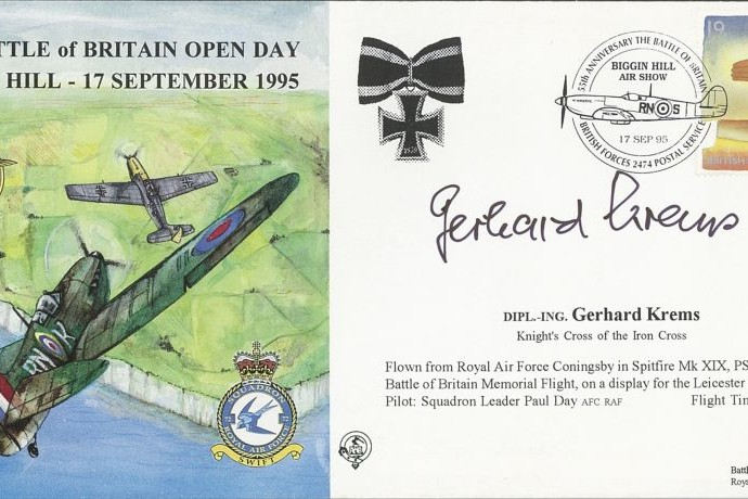 Battle of Britain cover Sgd by Gerhard Krems
