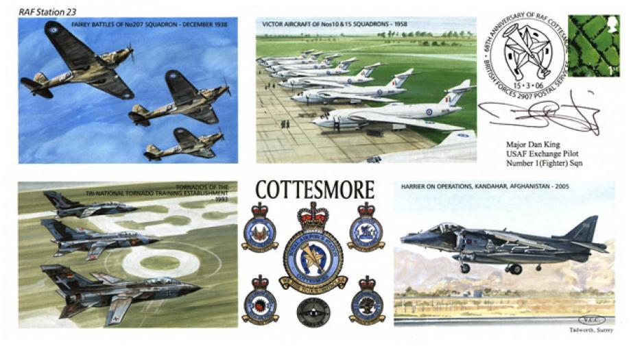 RAF Cottesmore cover Sgd Major Dan King USAF