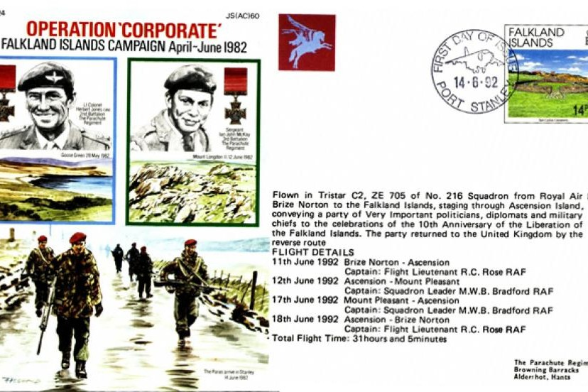 Falklands cover