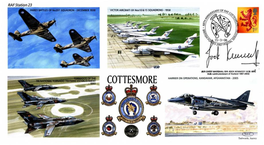 RAF Cottesmore cover Sgd Sir Jock Kennedy