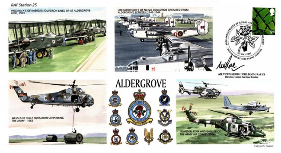 RAF Aldergrove cover Sgd W M Rae