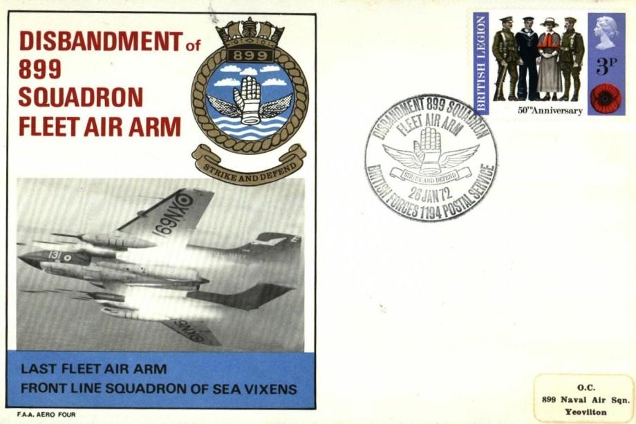 899 Sq Fleet Air Arm cover