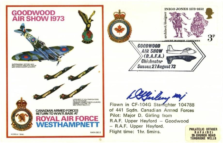 RAF Westhampnett cover Sgd D Girling