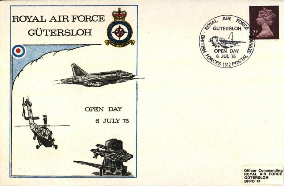 RAF Gutersloh cover