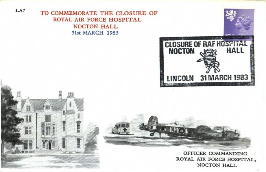 Closure of RAF Hospital Nocton Hall cover
