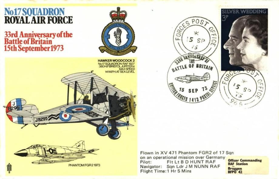 No 17 Squadron cover