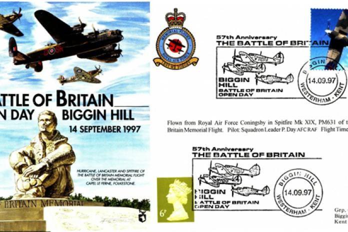 Battle of Britain Cover Biggin Hill