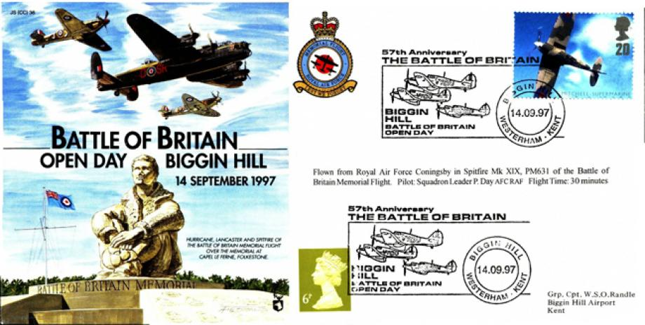 Battle of Britain Cover Biggin Hill