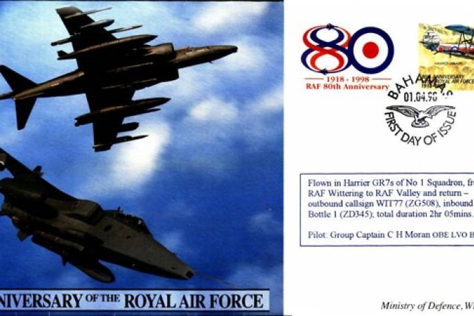 80th Anniversary of the RAF cover