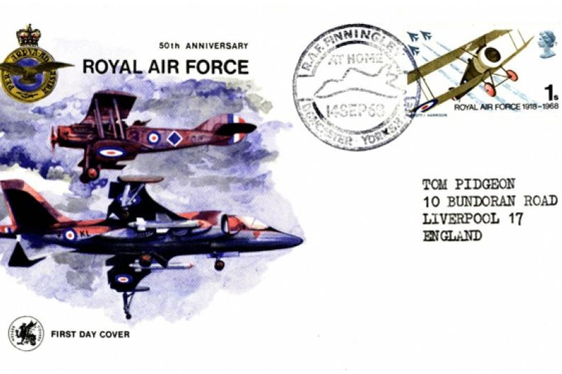 50th Anniversary of The RAF - First Day Cover - 14.9.1968