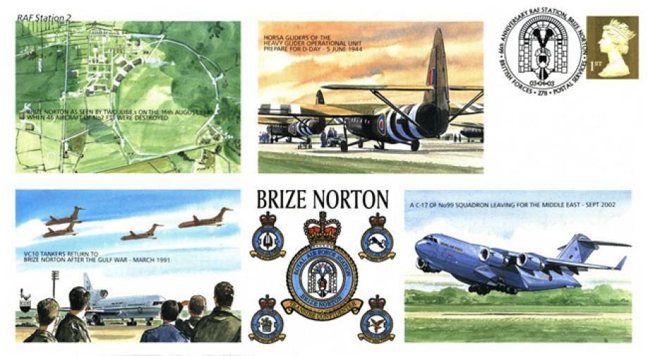 RAF BaseRAF Brize Norton cover