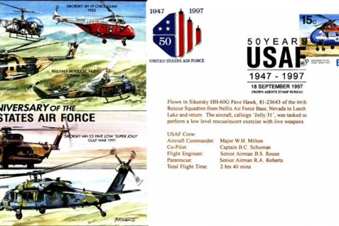 50th Anniversary of the USAF cover