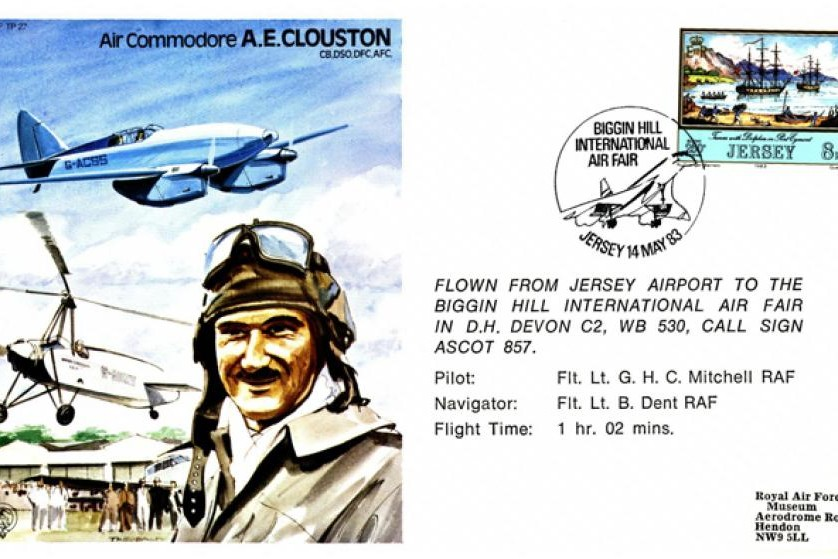 A E Clouston The Test Pilot Cover