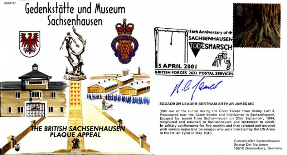 Gedenkstatte und Museum Sachsenhausen cover Sgd B A James