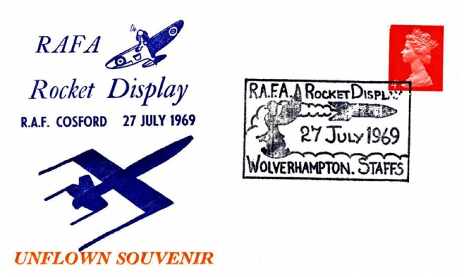 RAFA Rocket Display cover
