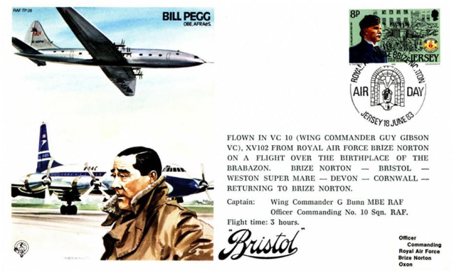 Bill Pegg Test Pilot cover