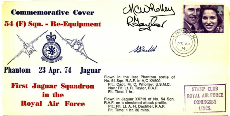54 Squadron cover Sgd crew