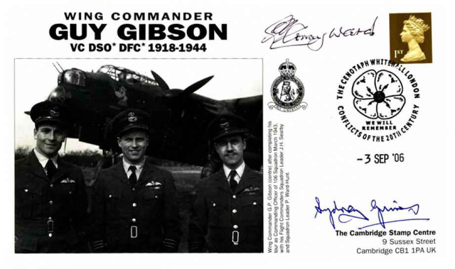 Dambusters 617 Squadron Signed Grimes And Gray Ward
