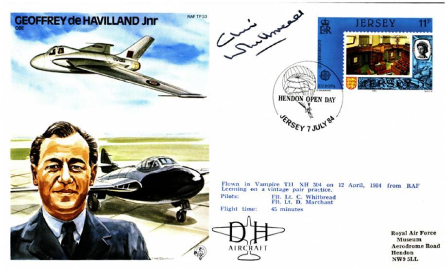 Geoffrey de Havilland Jnr the Test Pilot cover