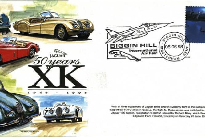 50 Years Of Jaguar XK Cover