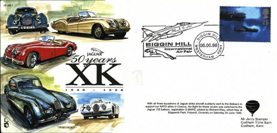 50 Years Of Jaguar XK Cover
