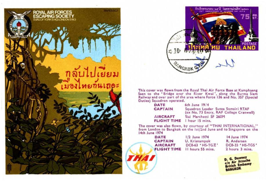 River Kwai cover Sgd pilot Sutea Somsiri
