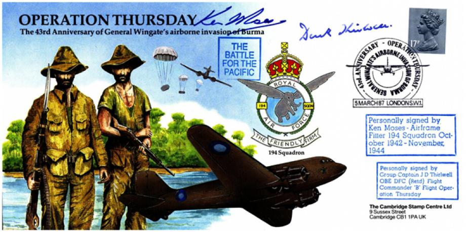 Operation Thursday cover Sgd K Moses and J D Thirlwell