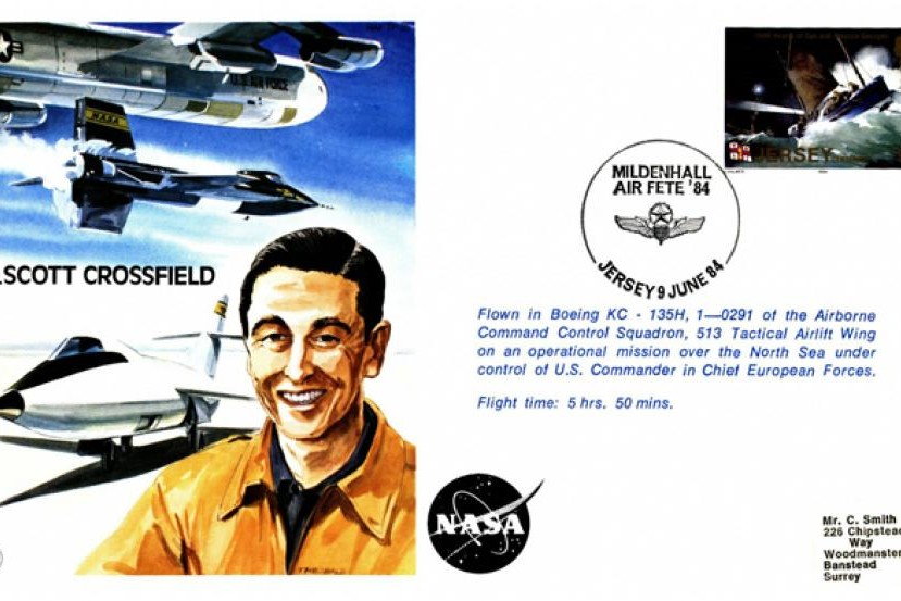 A Scott Crossfield the Test Pilot cover