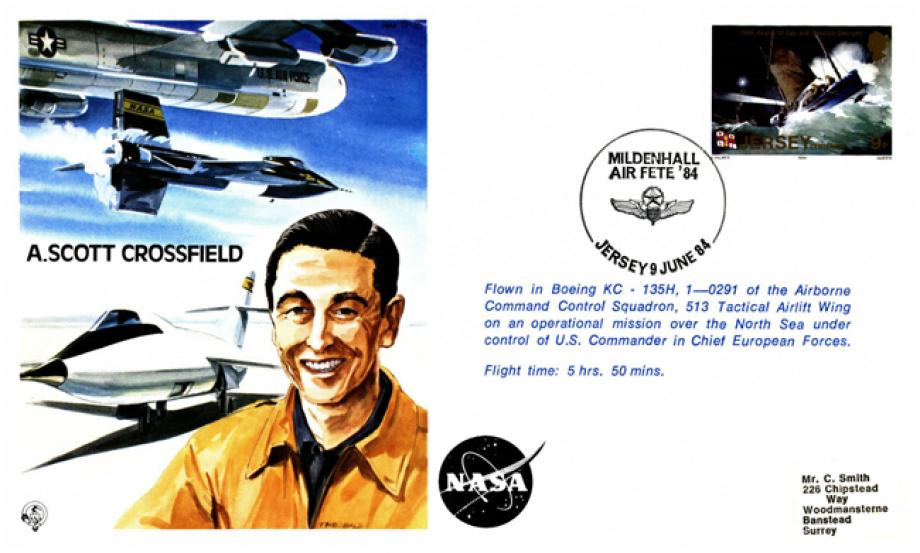 A Scott Crossfield the Test Pilot cover