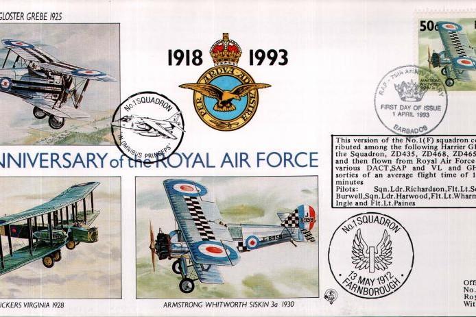 1 Squadron cover