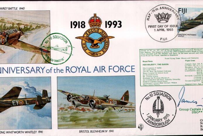 10 Squadron cover Sgd J B Tait Tirpitz