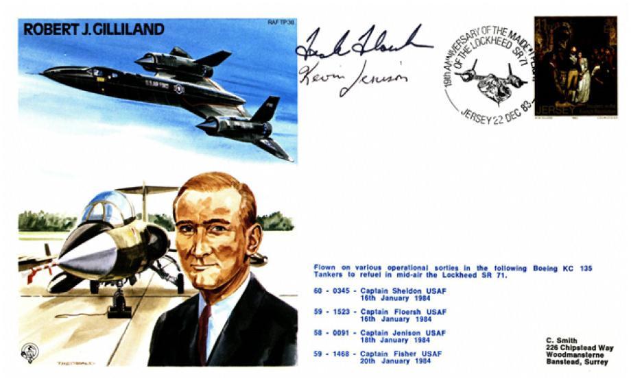 Robert J Gilliland the Test Pilot cover Sgd pilots