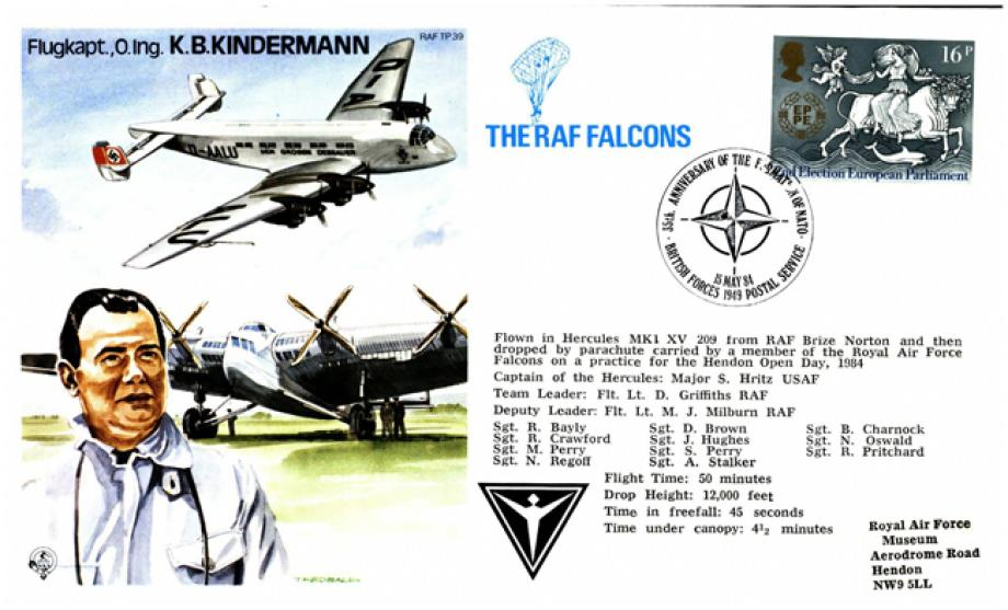 K B Kindermann the Test Pilot cover