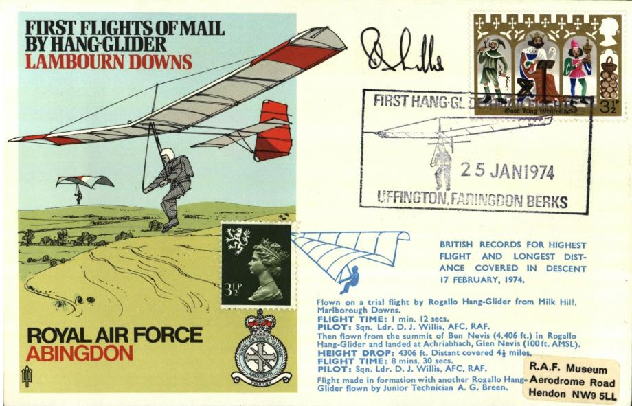 RAF Abingdon cover Sgd D J Willis